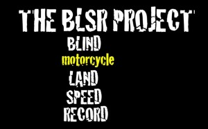 Blindfold Motorcycle Land Speed Record